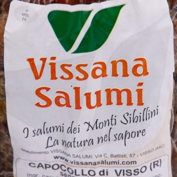 Capocollo di Visso Intero 700g Vissana Salumi