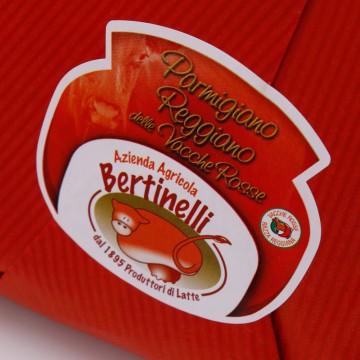 Parmigiano Reggiano DOP Vacche Rosse 500g Bertinelli