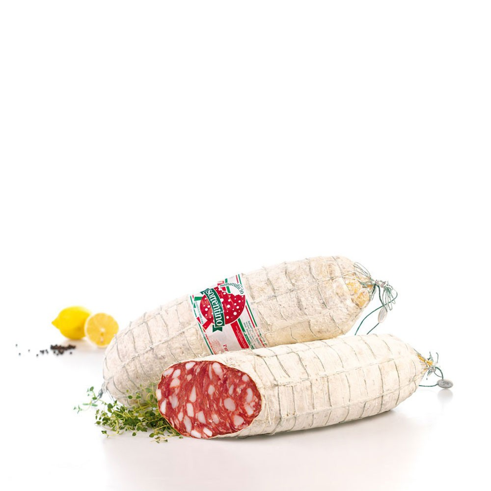 Salame Soppressata Siciliana 3,5Kg Salumificio Sorrentino