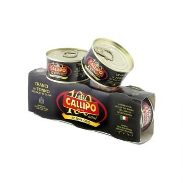 Tonno Yellowfin Riserva Oro 80g (3 pezzi) Calippo