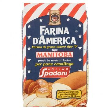 Farina d'America Manitoba 1kg Molino Spadoni
