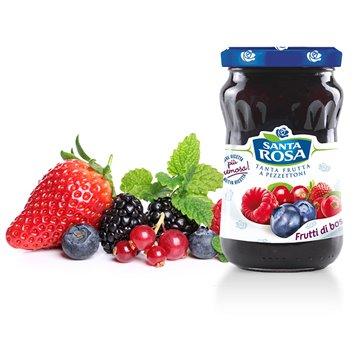Confettura Extra di Frutti di Bosco 350g Santa Rosa